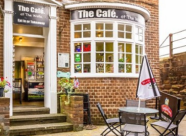 Cafe At The Walls in Chester
