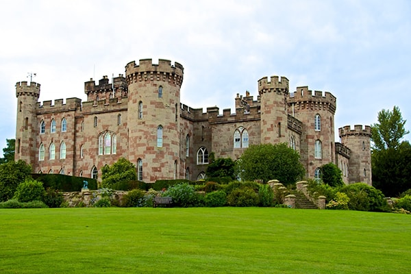 Cholmondeley Castle in Chester
