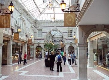 Grosvenor Shopping Centre in Chester